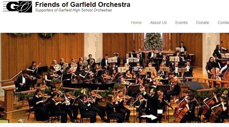 Friends of Garfield Orchestra Welcome Family Social — Sunday, Sept. 24