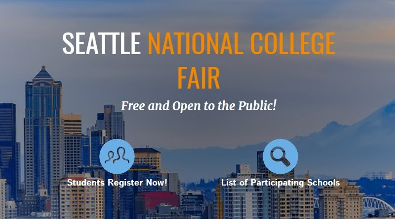 Seattle National College Fair — Oct. 27-28