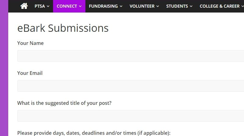 New eBark Submissions Form!