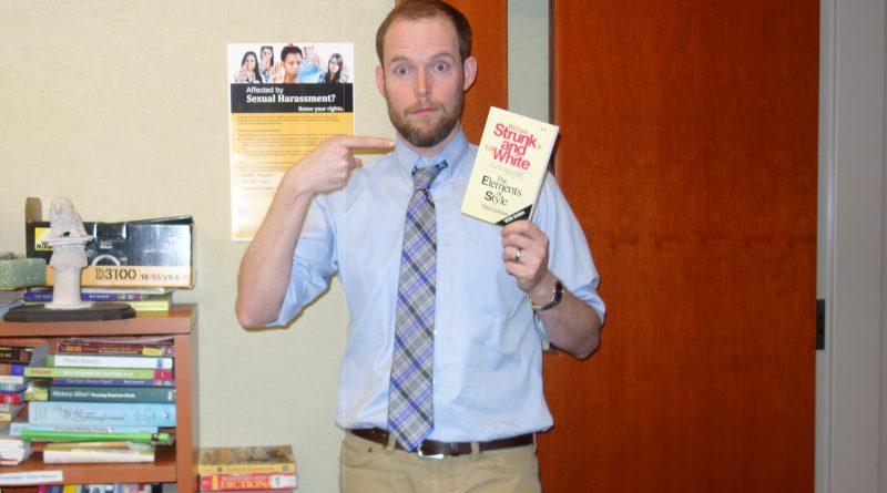 Meet Corey Martin! GHS Journalism Teacher