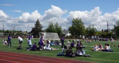 Purple & White Day Photos!
