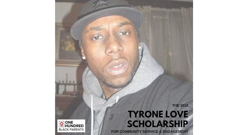 Tyrone Love Scholarship for Community Service & Engagement
