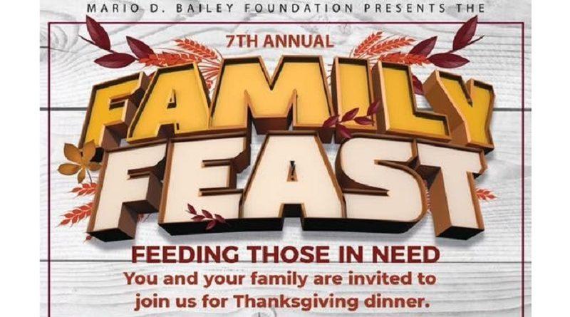 7th Annual MDB Foundation Family Feast — Thursday, Nov. 22