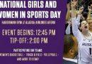 UW Huskies – National Girls & Women in Sports Day — Sunday, Jan. 27