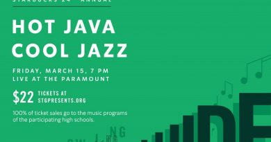 Hot Java Cool Jazz @ The Paramount Tickets on Sale — Friday, March 15