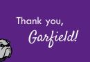 Thank you, Garfield Community!