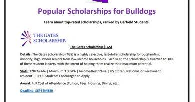 Popular GHS Scholarships
